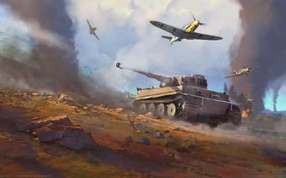 war, thunder, волк, game, танки, армия, second, уже, world,