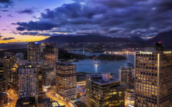 город, красивые, ночь
