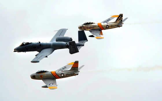 sabre, самолёт, thunderbolt