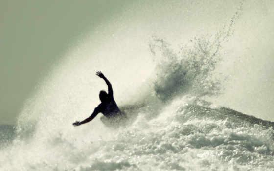 море, парень, water, спорт, доска, брызги, парни, ocean, волны, доски, сёрфинг,