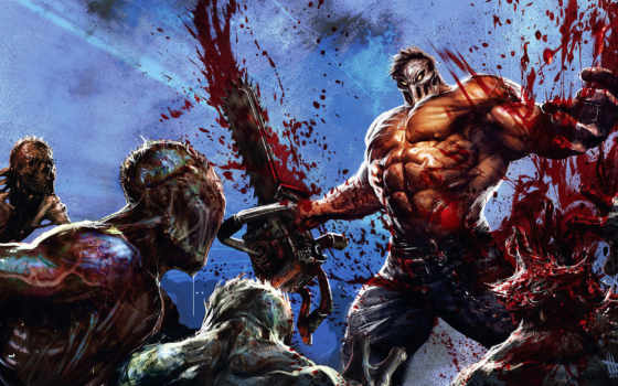 splatterhouse, art, работ, gaming, игры, dave, game,