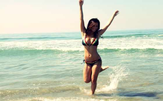 devushki, девушка, пляже