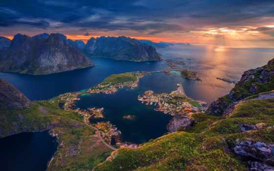 природы, красавица, норвегии, video, greatness,