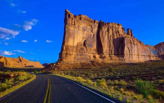 park, дорогой, природа, national, сша, картинка, landscape, kalifornii, красивый, гора