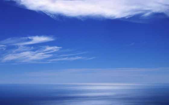 céu, azul, que