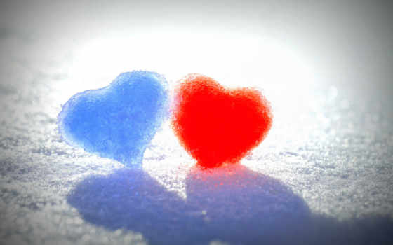 azul, amor, coração
