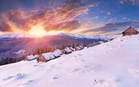 winter, new, happy, год, christmas, desktop,