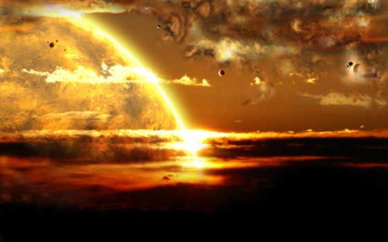 космоса, космос, начале