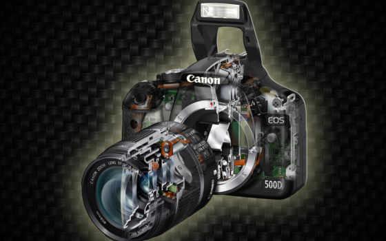 canon 500d в сечении
