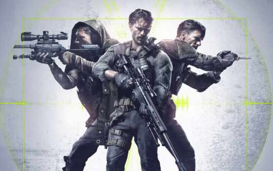 снайпер, ghost, воин