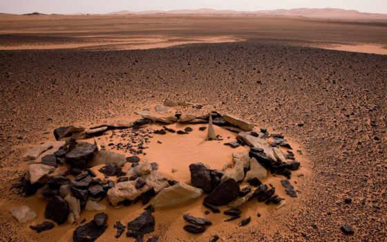 пустыня, камни, песок, сахара, ливия, камней,