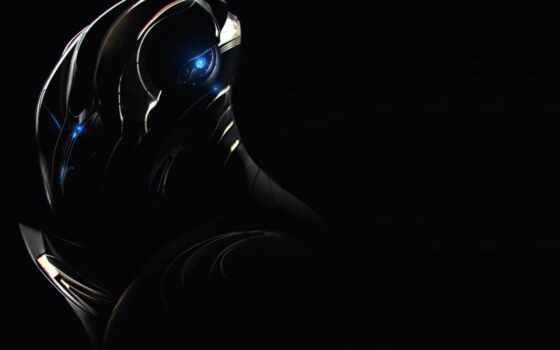 science, фантастика, black, качество, game, art, компьютер, космос, свет, blue