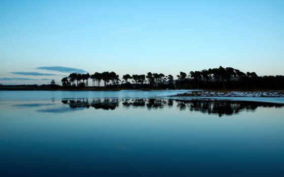 river, lake