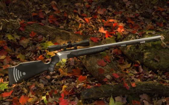 охотничья снайперка в листве