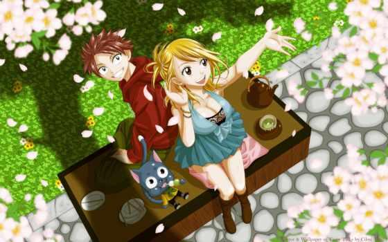 anime, девушка, весна