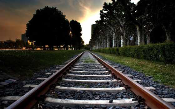 рельсы, дорога, железная Фон № 89040 разрешение 2560x1600