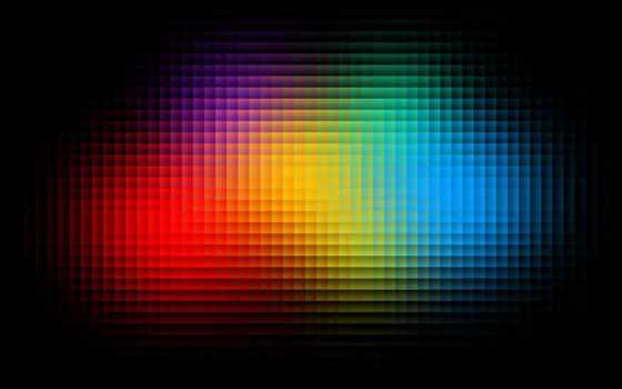 gradient, red, blue, black,
