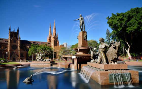 фонтаны, zoom, sydney, австралия, images, скульптуры, pictures,