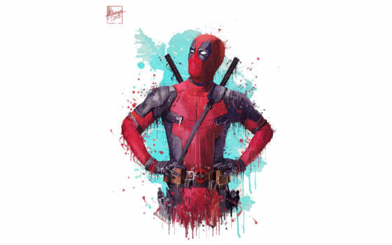 deadpool, movie, artwork