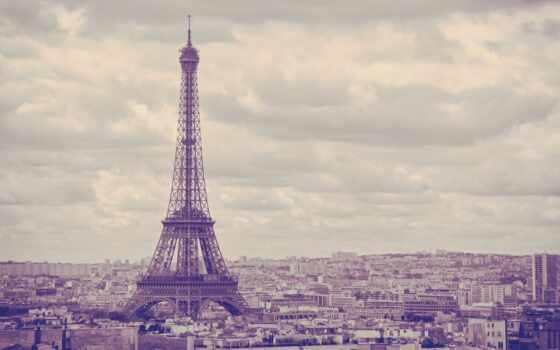eiffel, париж, torre, башня, eifelevyi, город, fondo, ciudad
