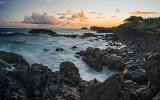 природа, закат, natural, море, побережье, landscape, permission, качественные, озеро, любая, ipad