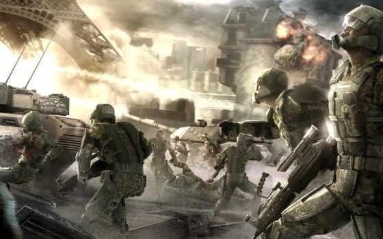 tom, endwar, война, пушка, парень, картинка, clancy, имеет, горизонтали, game, вертикали, video, clancys, games, desktop,