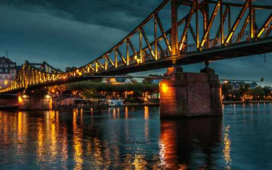 blue, flickr, photos, frankfurt, world, мост, mind, hive,