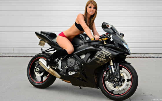 мотоцикл, девушка, suzuki, спорт, коллекция, красивый, motyi