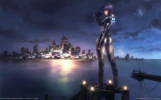 ghost, shell, game, anime, games, motoko, kusanagi, desktop, доспехах, complex, stand, alone,