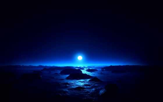 moon, save, full, свет, море, лунный, волны, artic, солнце,