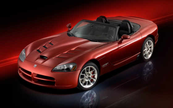 viper, srt, roadster, front, angle, red, picture,