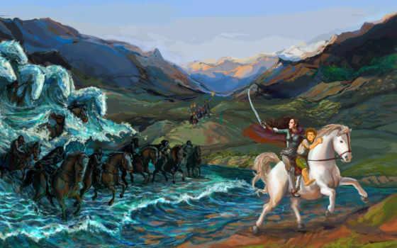лошади, fantasy, lord