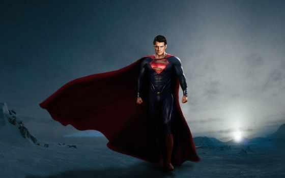 superman, мужчина, стальной