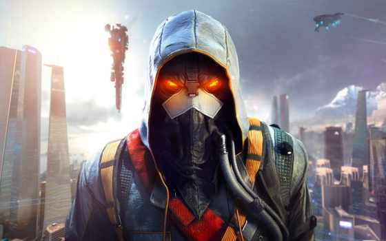 killzone, shadow, пасть, солдат, helghast, Хэлгаст, guerrilla, плену, сумрака,