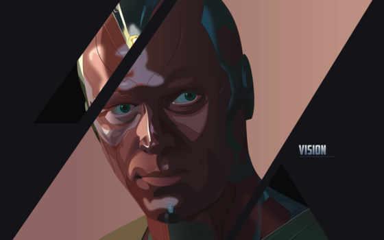 marvel, vision, супергерой,