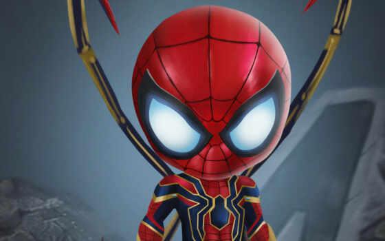 мужчина, marvel, паук, spiderman, human, art, avenger, house