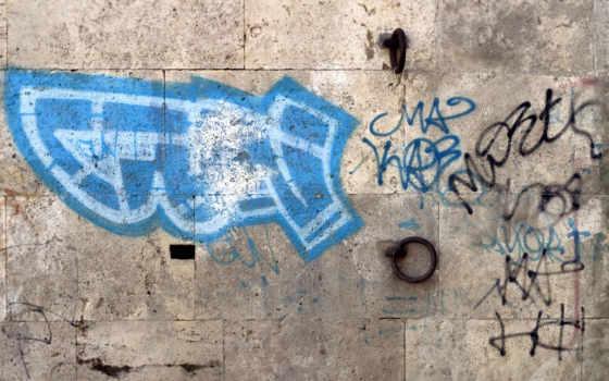 graffiti, стена, графика