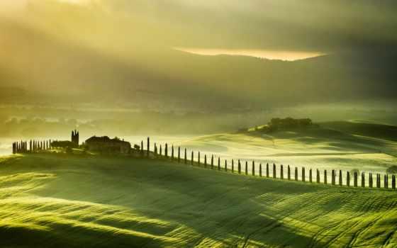 italy, possible, песочница, tuscany, каталоги, широкоформатные, landscape, за, туман, italian,