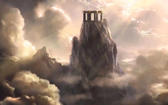 олимп, war, god, mount, ascension, chains, games,