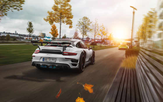 porsche, turbo, techart, resolution, desktop, улица,