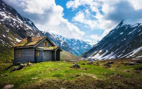 norwegian, горы, норвегия,