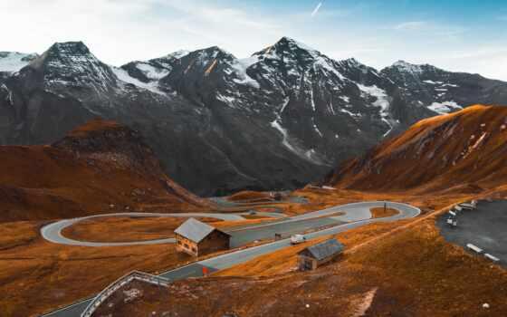 дорога, picjumbo, фото, гора, one, сайт, осень, watermark