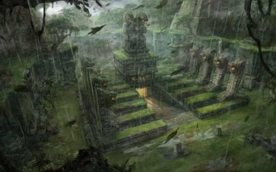 tomb, raider, fantasy