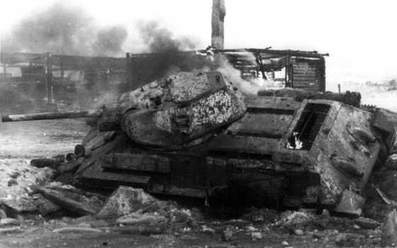 танк, war, soviet
