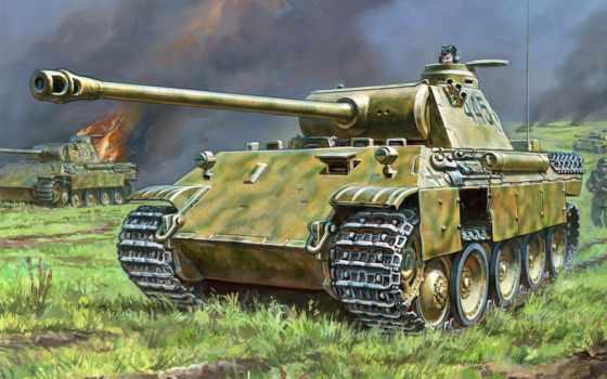 star, panther, танк