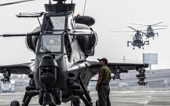 attack, вертолет, wz, самолёт, china, военный, armed, китаянка, пла, peoples, helicopters,