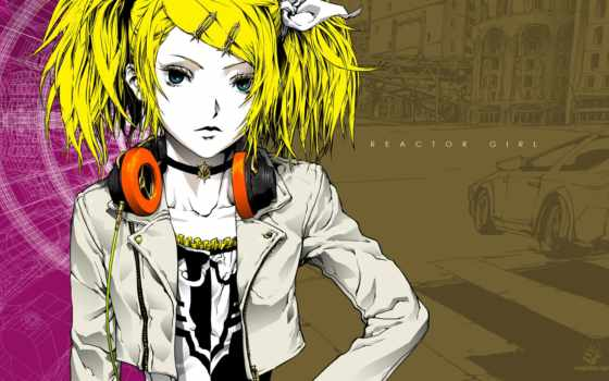 anime, девушка, devushki