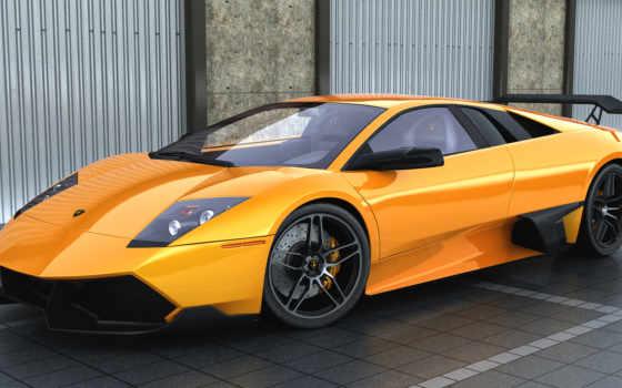 ламборджини, lamborghini, желтая, яndex, машина, оранжевая, автомобили, оранжевые, марки, aventador,
