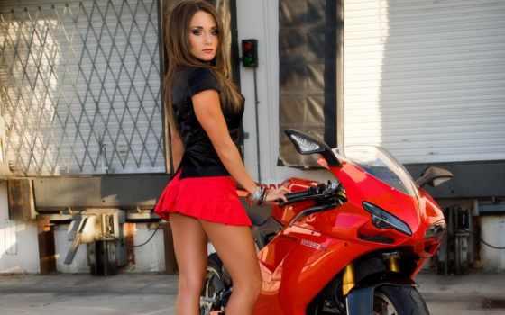 ducati, мотоцикл, девушка, sexy, pin, bike, motorbike, cute, плакат, женщина,