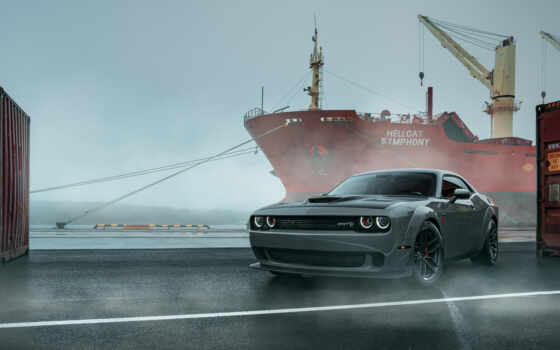 dodge, challenger, car, фото, фон, iphone, new
